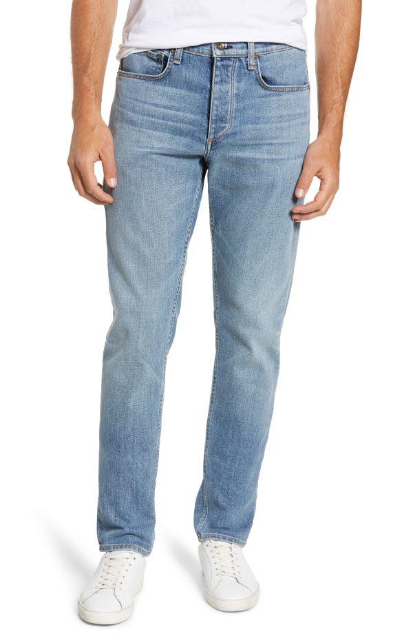 Men's Rag & Bone Fit 1 Skinny Fit Jeans, Size 34 - Blue