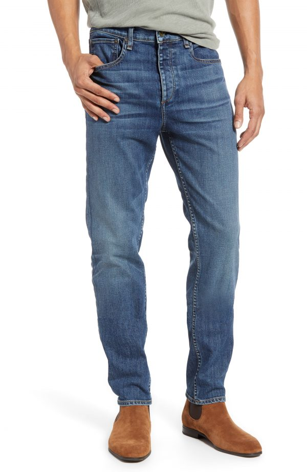 Men's Rag & Bone Fit 2 Slim Fit Jeans, Size 31 - Blue
