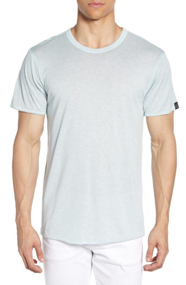 Men's Rag & Bone Regular Fit Reversible T-Shirt, Size Small - Blue