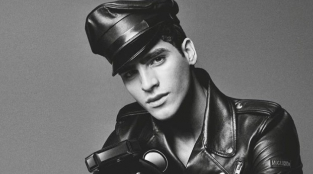 Jhonattan Burjack fronts Moschino's Toy Boy fragrance campaign.