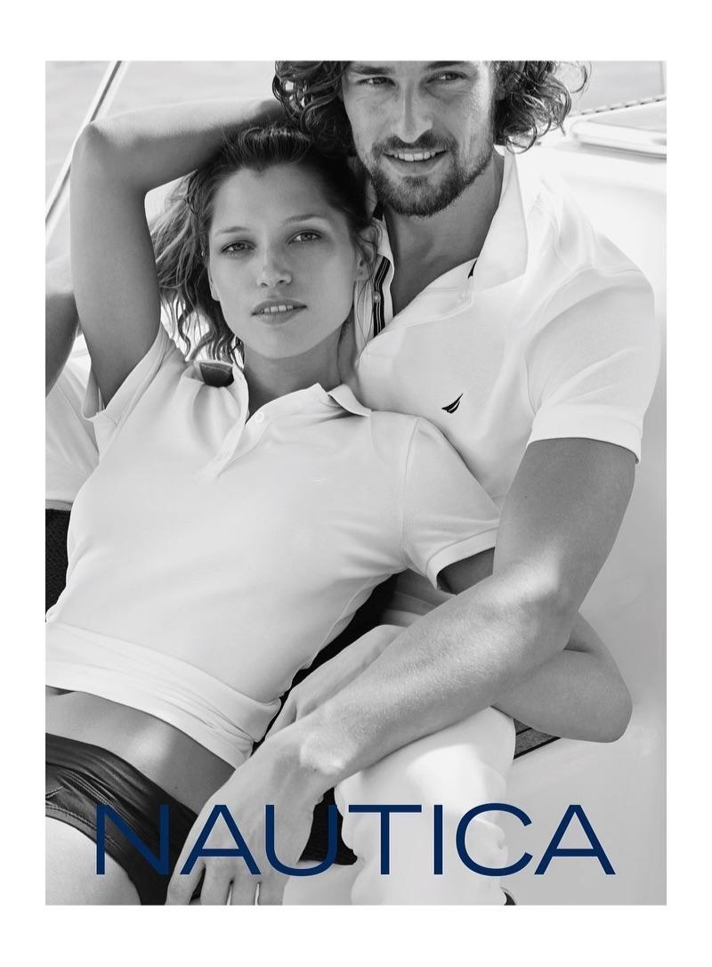 Hana Jirickova and Wouter Peelen front Nautica's summer 2019 campaign.