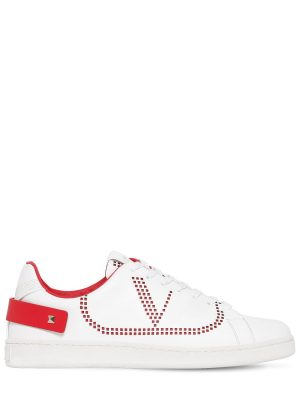 Net Low Top Leather Sneakers