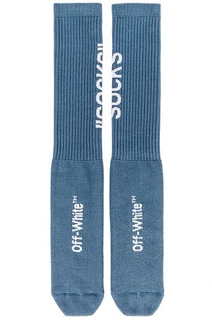 OFF-WHITE FWRD EXCLUSIVE Socks in Blue.