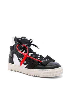 OFF-WHITE Off Court Sneaker in Black. - size 42 (also in 41)