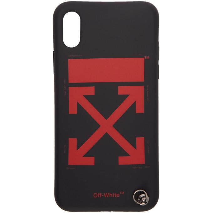 sale retailer a6e5b 33953 Off-White Black Arrows Strap iPhone X Case