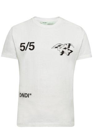 Off-White Wars Short Sleeve Skinny T-Shirt