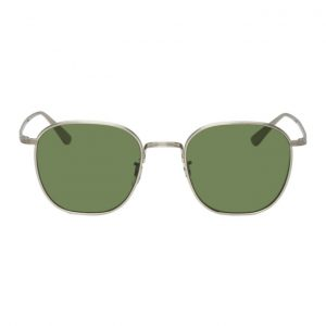 Oliver Peoples The Row Silver Board Meeting 2 Sunglasses