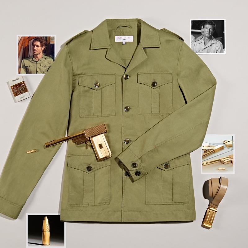 Orlebar Brown 007 Bond Safari Jacket $595