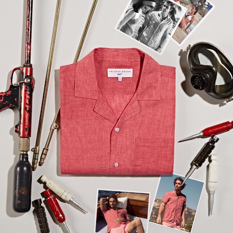 Orlebar Brown 007 Thunderball Shirt $295