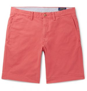 Polo Ralph Lauren - Slim-Fit Cotton-Blend Twill Chino Shorts - Men - Red
