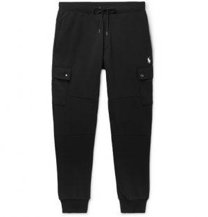 Polo Ralph Lauren - Slim-Fit Jersey Cargo Sweatpants - Men - Black