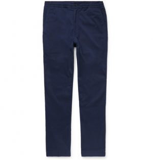 Polo Ralph Lauren - Tapered Cotton-Blend Twill Chinos - Men - Navy