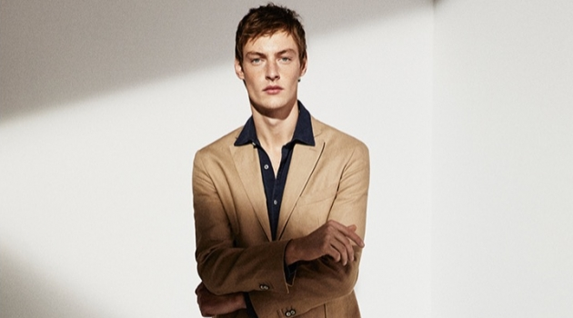 The Fashion File: Roberto Sipos Dons Sleek Looks for Massimo Dutti