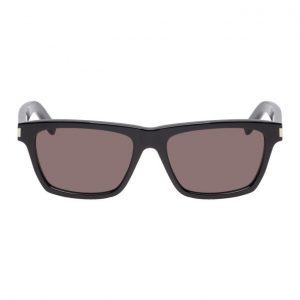 Saint Laurent Black Rectangular SL274 Sunglasses