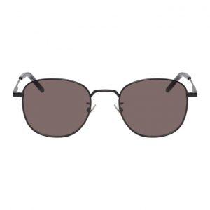 Saint Laurent Black Round SL 299 Sunglasses