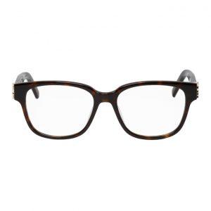 Saint Laurent Tortoiseshell SL M33 Glasses
