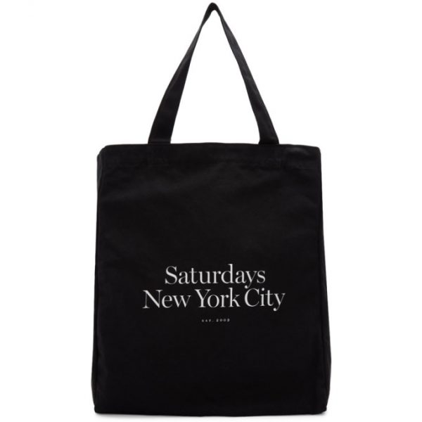 Saturdays NYC Black Miller Standard Tote