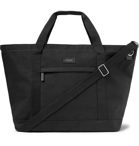 Saturdays NYC - Cotton-Canvas Tote Bag - Men - Black