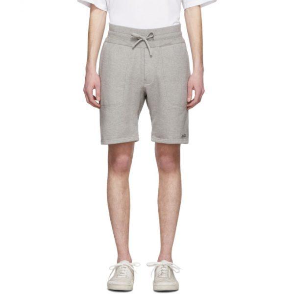 Saturdays NYC Grey Austin Sweat Shorts
