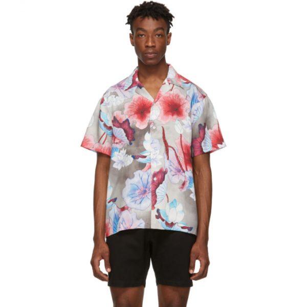 Saturdays NYC Multicolor Canty Short Sleeve Shirt