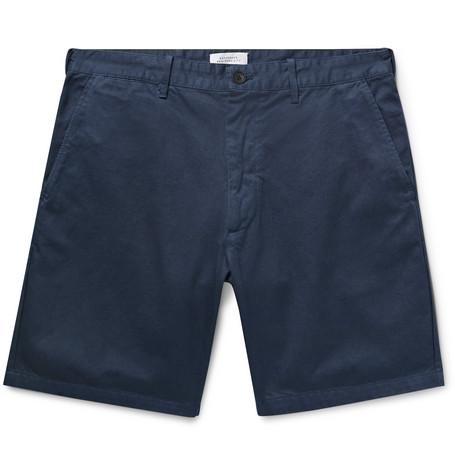 Saturdays NYC - Tommy Cotton-Twill Chino Shorts - Men - Blue