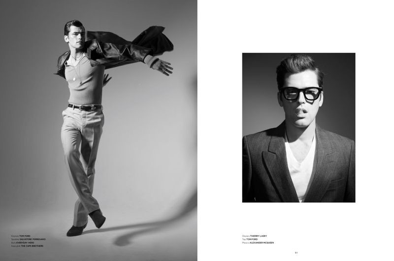 Sean O'Pry Brings His 'A' Game to L'Officiel Hommes Poland