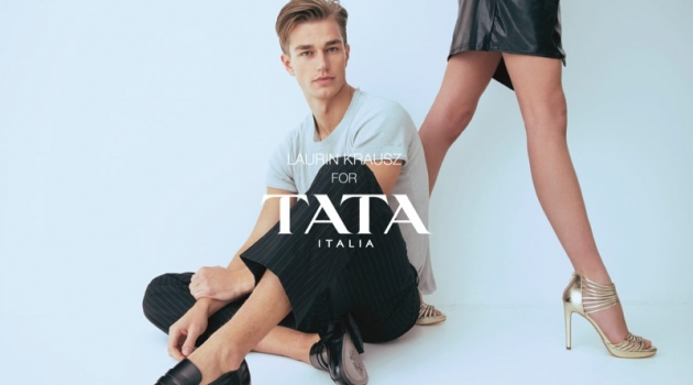 TATA Italia taps Laurin Krausz as the face of its spring-summer 2019 campaign.