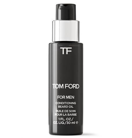 TOM FORD BEAUTY - Neroli Portofino Conditioning Beard Oil, 30ml - Men - Black