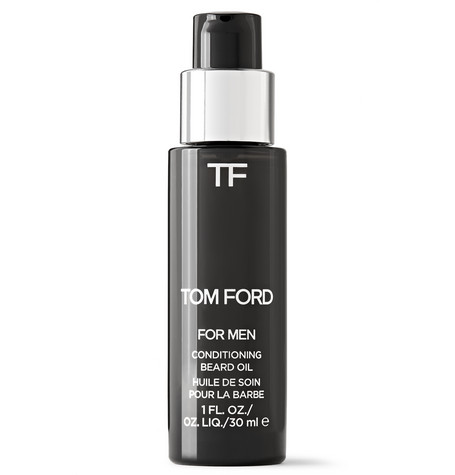 TOM FORD BEAUTY - Oud Wood Conditioning Beard Oil, 30ml - Men - Black