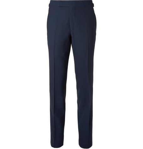 TOM FORD - Navy O'Connor Slim-Fit Wool Suit Trousers - Men - Navy