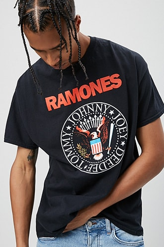 The Ramones Graphic Tee at Forever 21 Black/multi