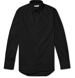 The Row - Ahmet Slim-Fit Sea Island Cotton-Poplin Shirt - Men - Black