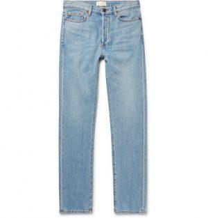 The Row - Bryan Denim Jeans - Men - Light blue