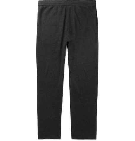 The Row - LA Slim-Fit Cashmere-Jersey Sweatpants - Men - Black