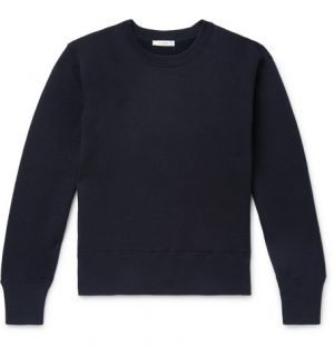 The Row - Nicolas Cotton and Cashmere-Blend Sweater - Men - Navy