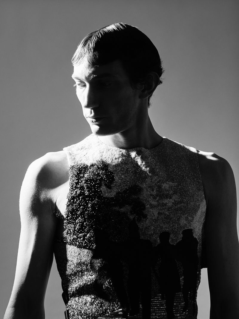 Thilo Muller Dons Louis Vuitton for The Greatest Magazine
