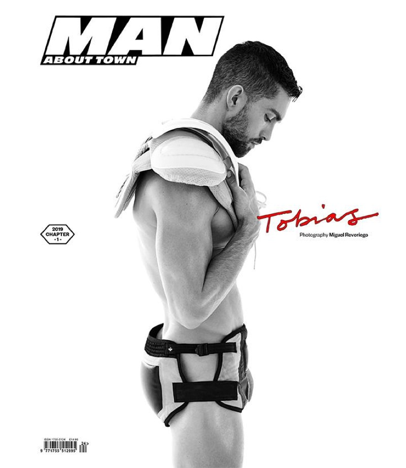 Tobias Sorensen Sports Eclectic Fashions for Man About Town