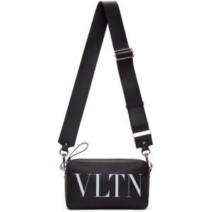 Valentino Black Valentino Garavani VLTN Crossbody Bag