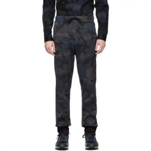 Valentino Navy Camo Lounge Pants