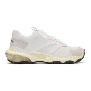 Valentino White Valentino Garavani Bounce Runner Sneakers