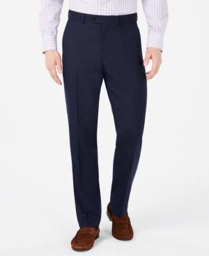 Vince Camuto Men's Slim-Fit Pin-Dot Suit Pants