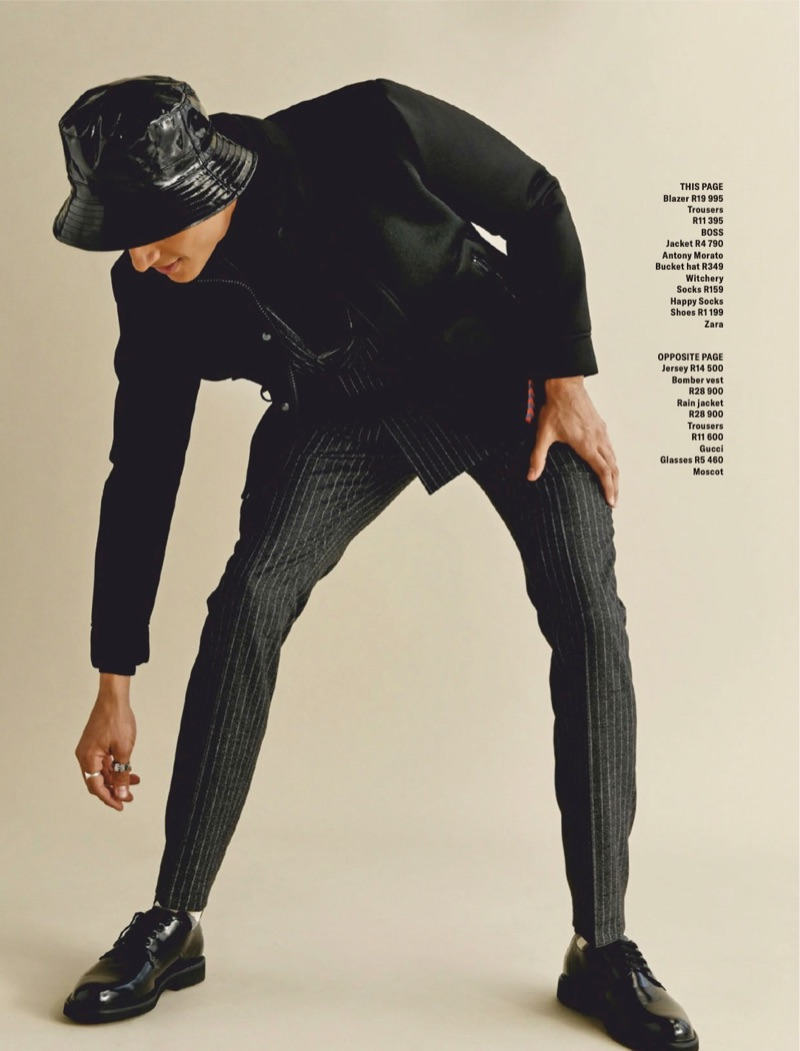 Vincent F. Sports Investment Pieces for GQ South Africa