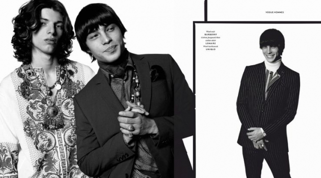 Heart of Stone: Louis Baines & Fernando Albaladejo for Vogue Hommes Paris