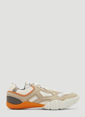 Acne Studios Berun Technical Suede Sneakers in White size EU - 44