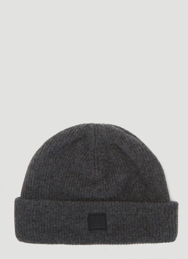 Acne Studios Kansy Knit Hat in Grey size One Size