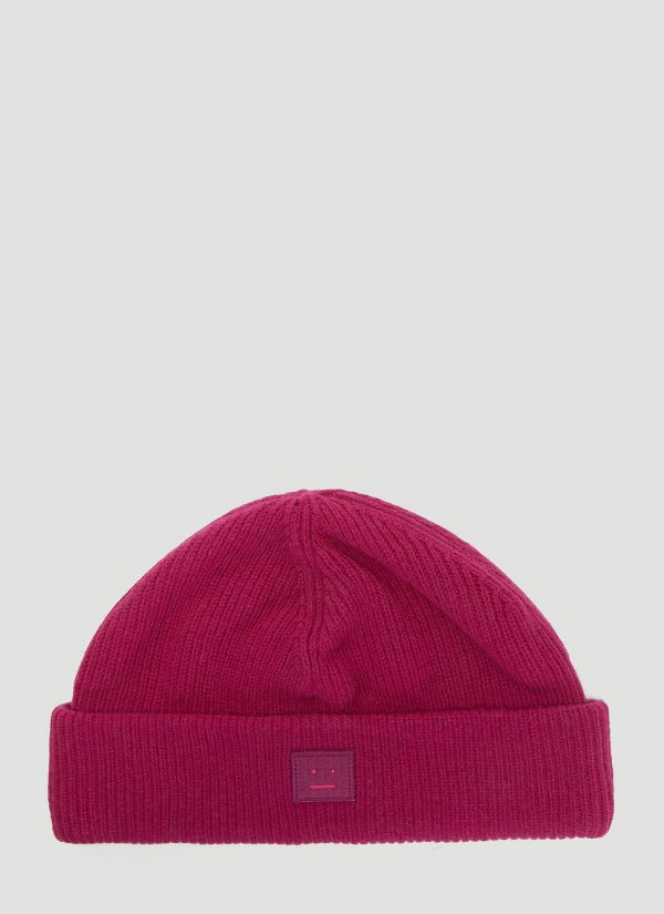 Acne Studios Kansy Knit Hat in Pink size One Size