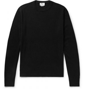 Acne Studios - Niale Wool-Blend Sweater - Men - Black