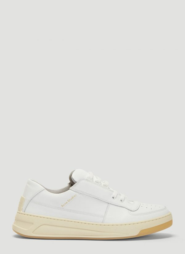 Acne Studios Perey Lace Up Sneakers in White size EU - 42