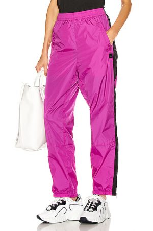Acne Studios Phoenix Face Track Pant in Purple. - size L (also in XS,S,M)