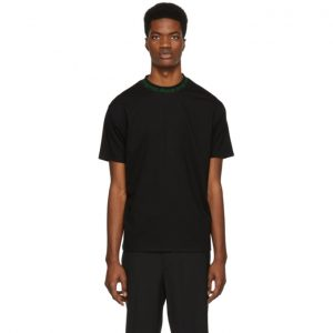 Acne Studios SSENSE Exclusive Black and Green Navid T-Shirt
